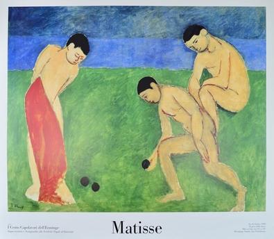 Henri Matisse Jeu de Boules