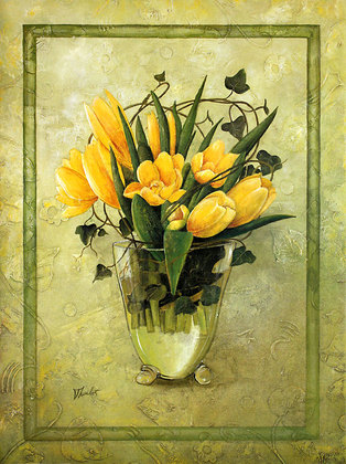 Ludger Thuilot Yellow Tulips
