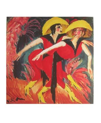 Ernst Ludwig Kirchner Zwei rote Taenzerinnen