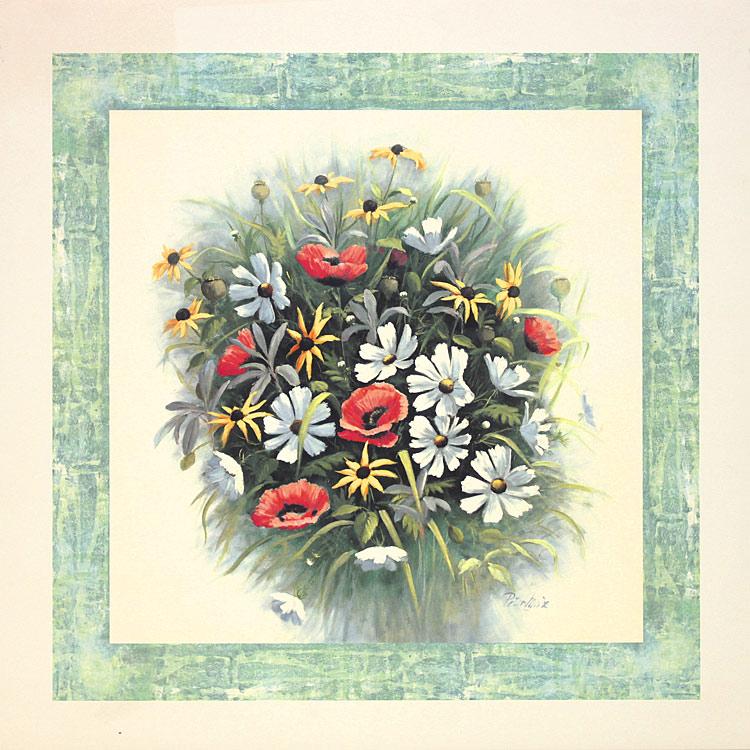 peter motz wildblumen poster kunstdruck bei. Black Bedroom Furniture Sets. Home Design Ideas
