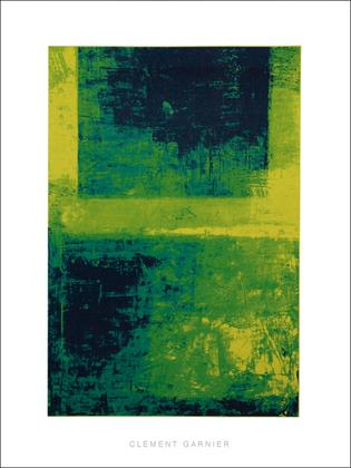 Clement Garnier Surface 1, (gruen)