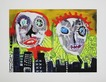Paul Kostabi Gritty in the city