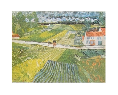 Vincent van Gogh Landschaft bei Auvers