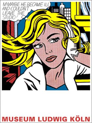 Roy Lichtenstein Maybe