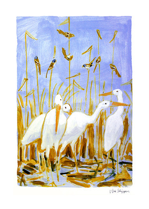Arie Schippers Music in Reedbed