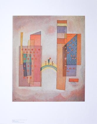 Wassily Kandinsky Die Bruecke