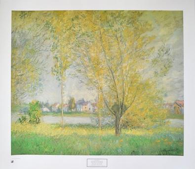 Claude Monet Weide in Vetheuil