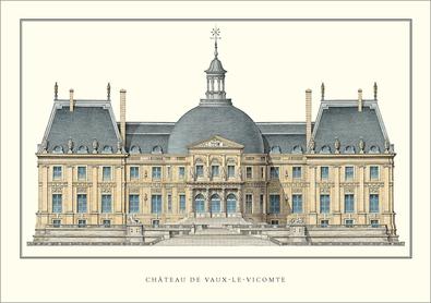 Louis Levau Chateau Vaux-le-Vicomte