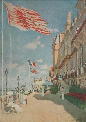 Claude Monet Das Hotel des Roches Noires in Trouville