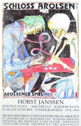 Horst Janssen Arolsener Spielchen