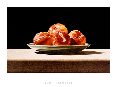 Arbuckle john plums on celadon large