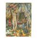 Paul Cezanne Innenansicht mit Akt