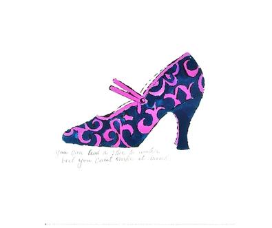 Andy Warhol A la Recherche du Shoe Perdu