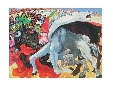 Pablo Picasso Der Stierkampf