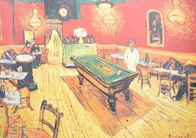 Vincent van Gogh Cafe di Notte