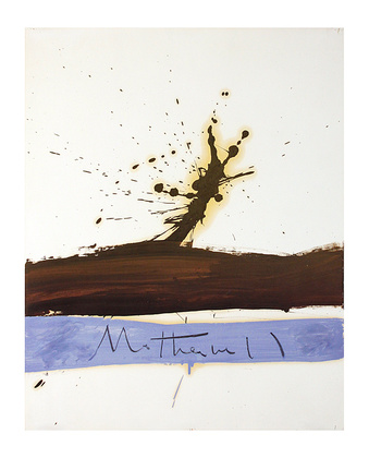 Robert Motherwell Beside the Sea No. 1