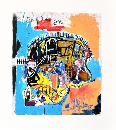 Jean-Michel Basquiat Untitled (Skull) 1981
