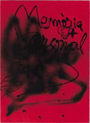 Antoni Tapies Memoria Personal (1988)