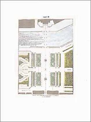 Jakob Ignaz Hittorff Projekt zur Verschönerung der Place de la Concorde