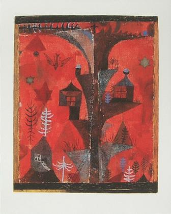 Paul Klee Der Haeuserbaum