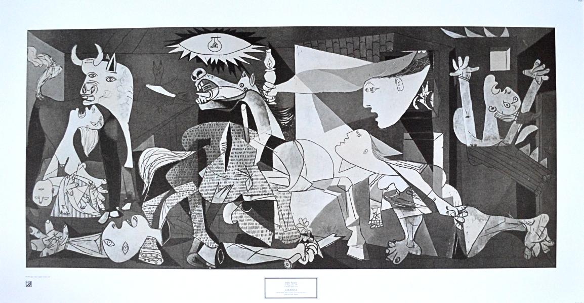 Pablo Picasso La Guernica 9728 Poster Kunstdruck Bei