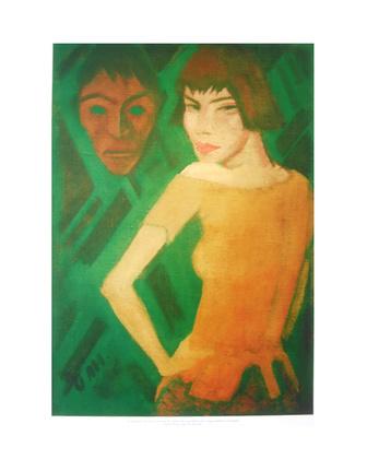 Otto Mueller Maschka mit Maske