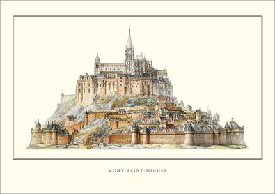 Edouard Corroyer Mont-Saint-Michel