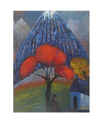 Marianne von Werefkin Der rote Baum
