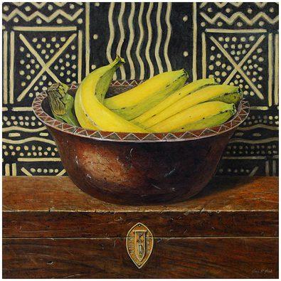 Arnie Fisk 4er Set 'Banana Bowl' + 'Papaya Bowl' + 'Lime Bowl' + 'Mango Bowl'