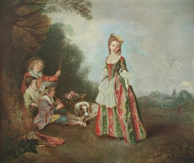 Antoine Watteau Der Tanz