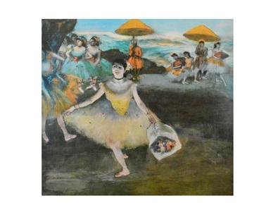 Edgar Degas Taenzerin mit Bouquet