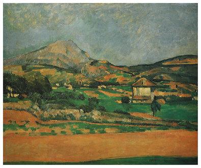 Paul Cezanne Plain of the Mount St. Victoire