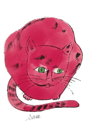 Andy Warhol Sam red