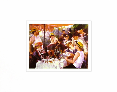 Pierre Auguste Renoir Luncheon of the Boating Party, 1880