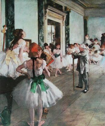 Edgar Degas Ballett Schule