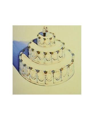 Wayne Thiebaud Wedding Cake  1962