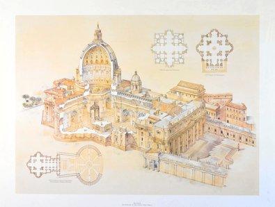 L. Derrien Basilica di San Pietro