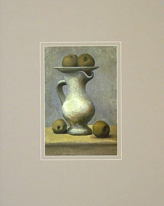 Pablo Picasso Still Life with Pitcher and Apple