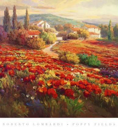 Roberto Lombardi Poppy Fields