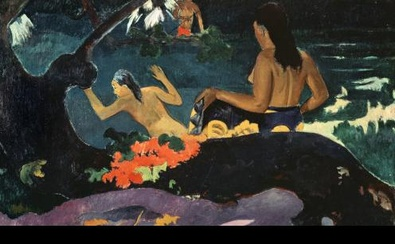 Paul Gauguin Am Meer (Fatata te miti)