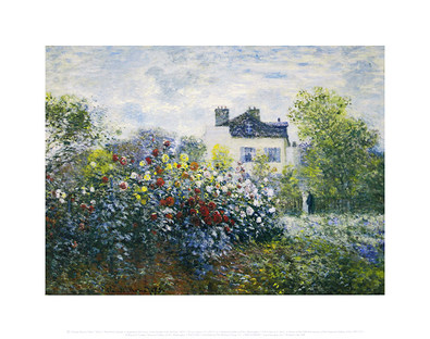 Claude Monet The Artist's Garden - Argenteuil, 1873