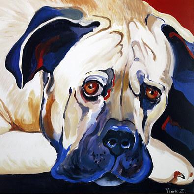 Z. Mark 2er Set Hunde