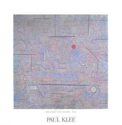 Paul Klee Das Licht und Etliches