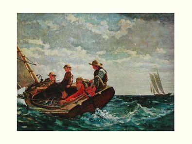 Homer Winslow Der Wind frischt auf  1876