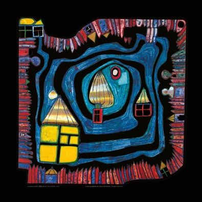 Friedensreich Hundertwasser End of the waters