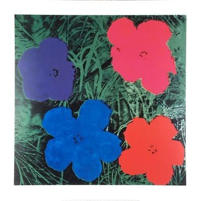 Andy Warhol Flowers II