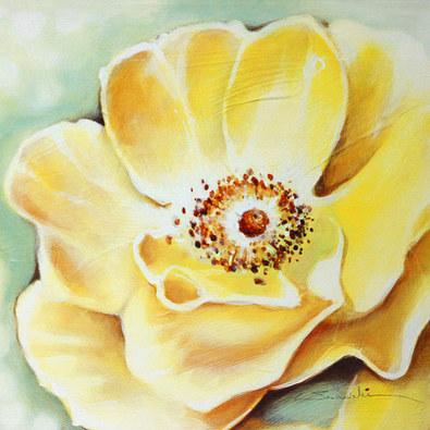 Arkadiusz Warminski 4er Set 'Wild Yellow Roses' + 'Wild Rose Roses' + 'Wild Pink Roses' + 'Wild Violet Roses'