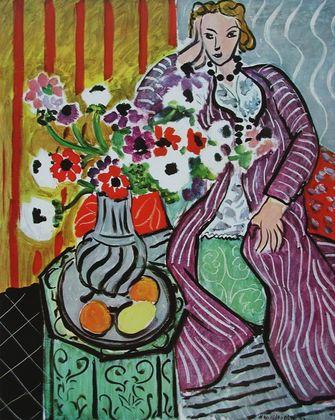 Henri Matisse Das Lila Gewand  1937