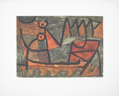 Paul Klee Finstere Bootsfahrt