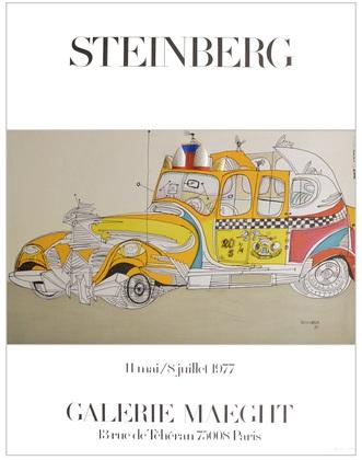 Saul Steinberg Taxi